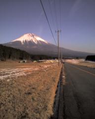 あさぎり高原の富士山