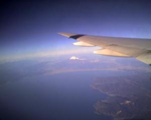 たぶん富士山!?