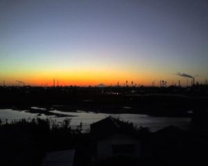 富士山from千葉@TodaNa